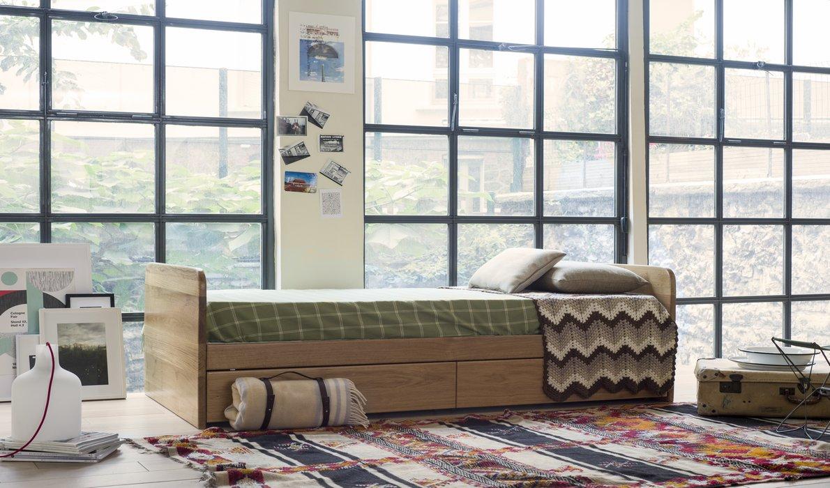 lit tiroir kandet sommier tapissier nation literie. Black Bedroom Furniture Sets. Home Design Ideas