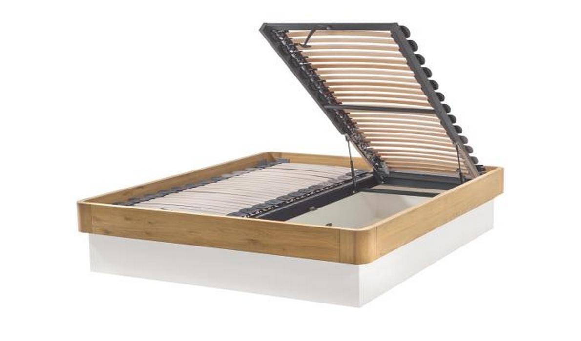 hasena oak bianco practico nation literie. Black Bedroom Furniture Sets. Home Design Ideas