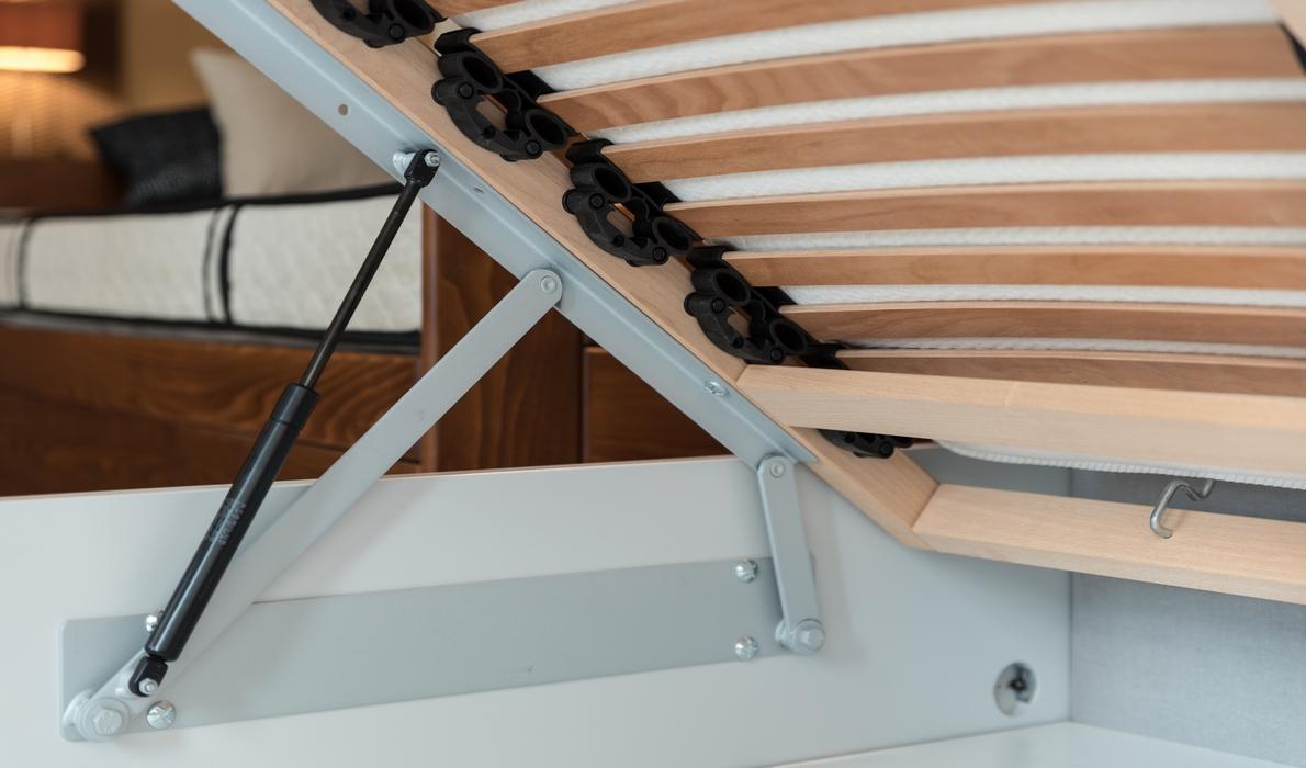 lit coffre titan nation literie. Black Bedroom Furniture Sets. Home Design Ideas
