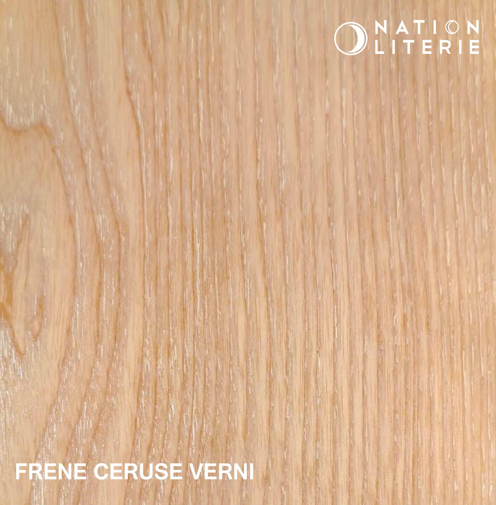 Frêne cérusé vernis