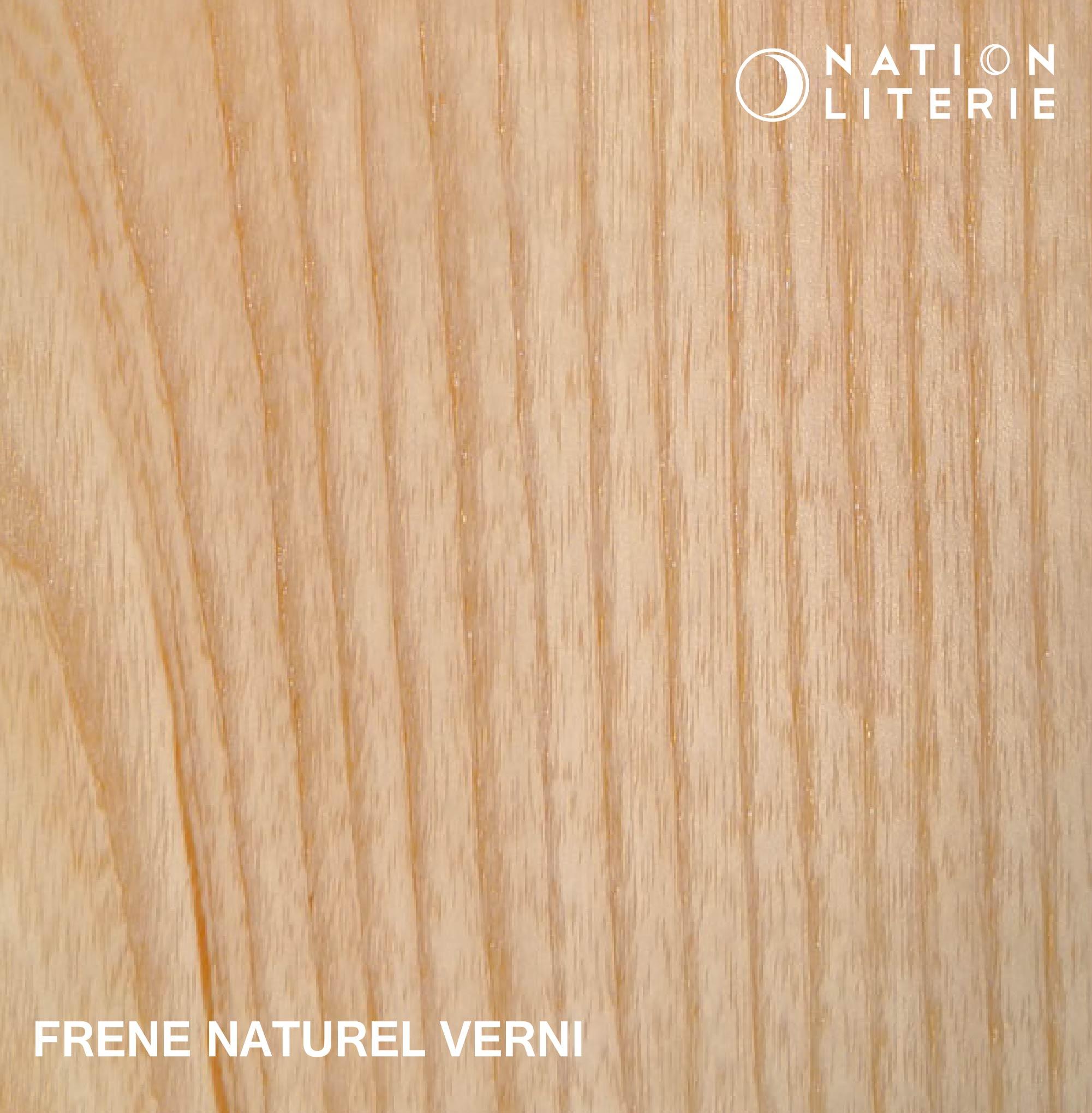 Frêne naturel vernis
